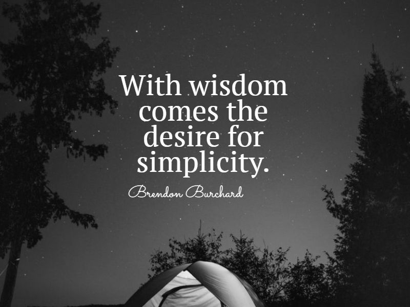 powerful simplicity quotes
