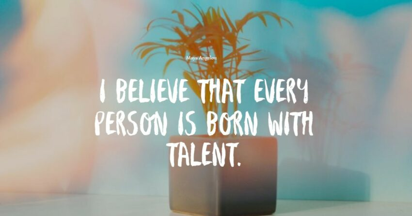 talent quotes