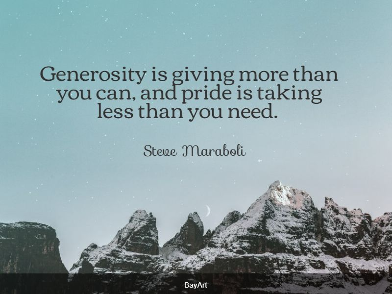 top generosity quotes
