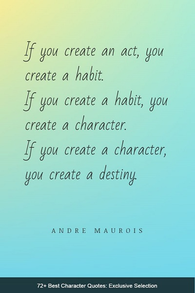 best character quotes and sayings of all time