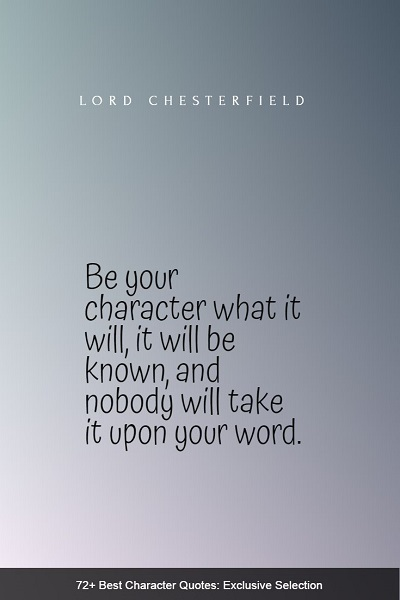 best character quotes and sayings