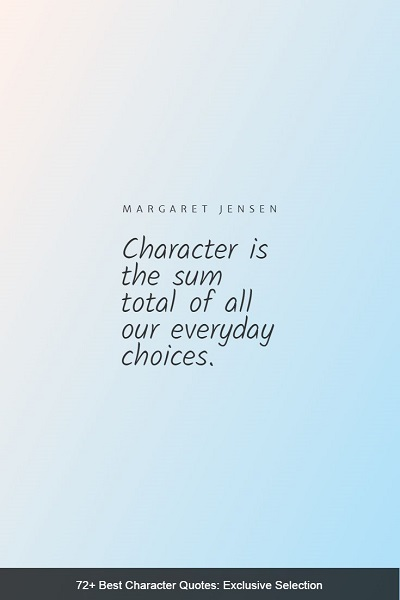 best character quotes of all time