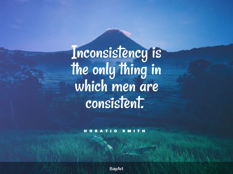 best consistency quotes