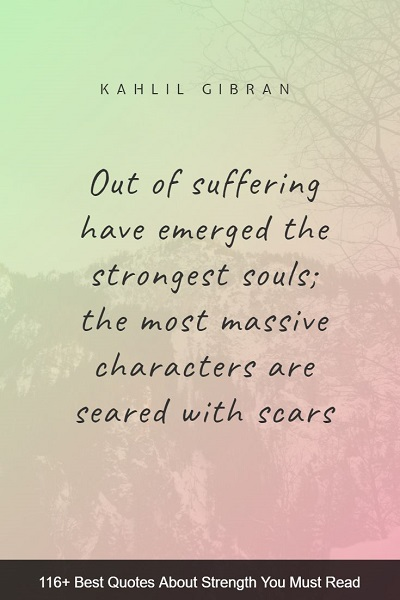 best spiritual quotes about strength