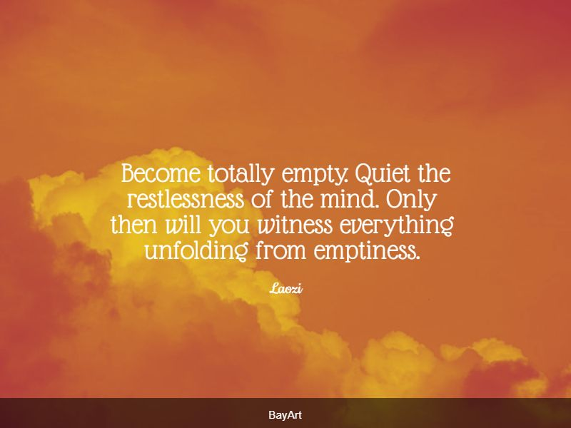famous feeling empty quotes