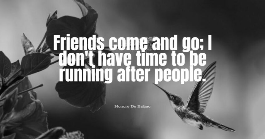 friends come and go quotes