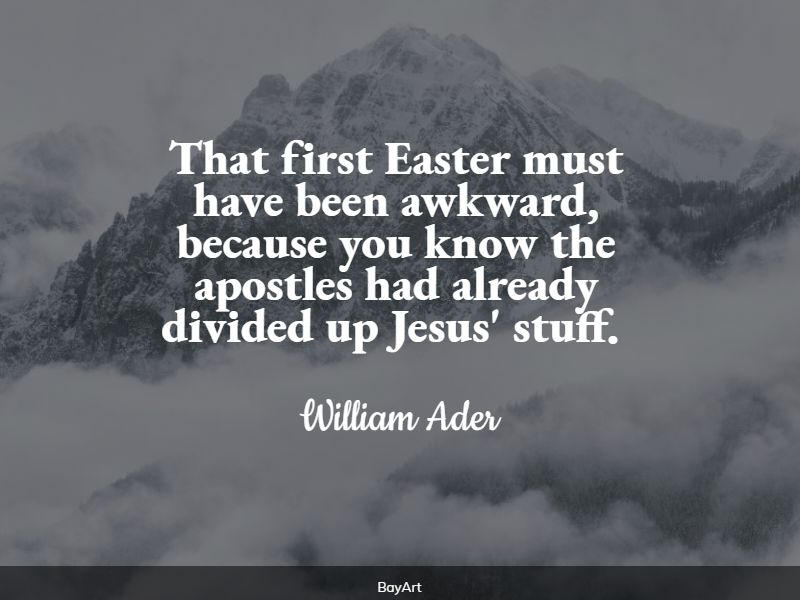 funniest easter quotes
