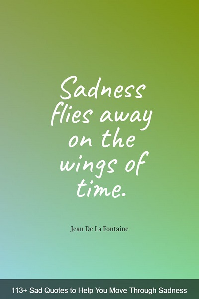 most encouraging sadness quotes with images