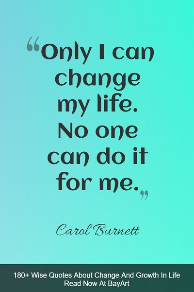 motivational change quotes and sayings