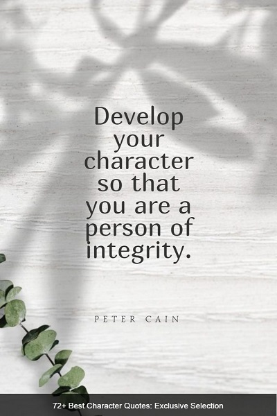 powerful quotes about character