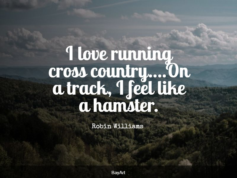 top cross country quotes