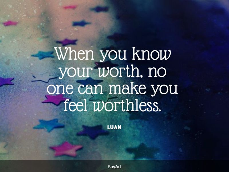 top feeling worthless quotes