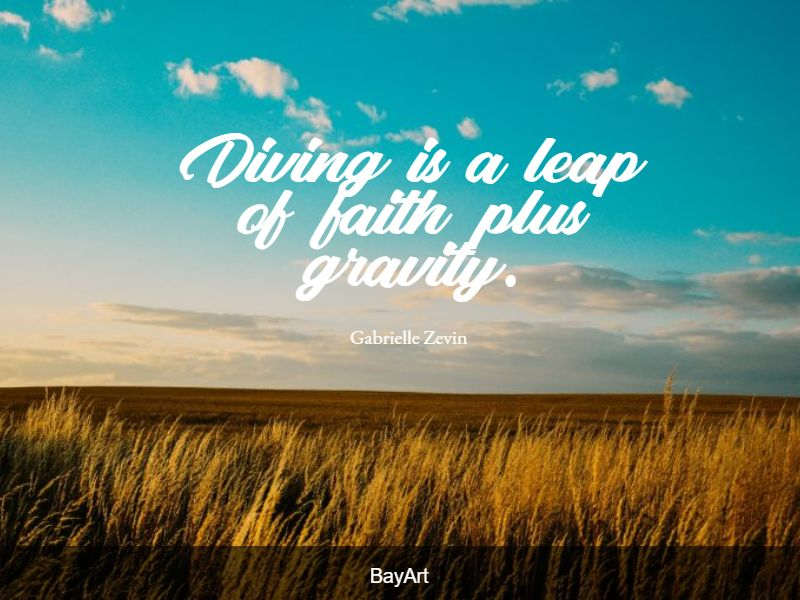 best leap of faith quotes