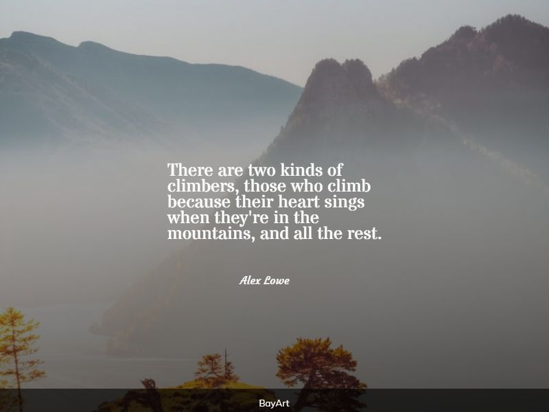 famous climbing quotes