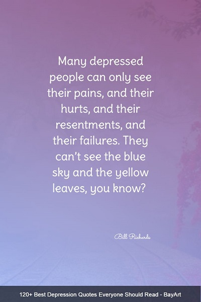 famous sayings about depression