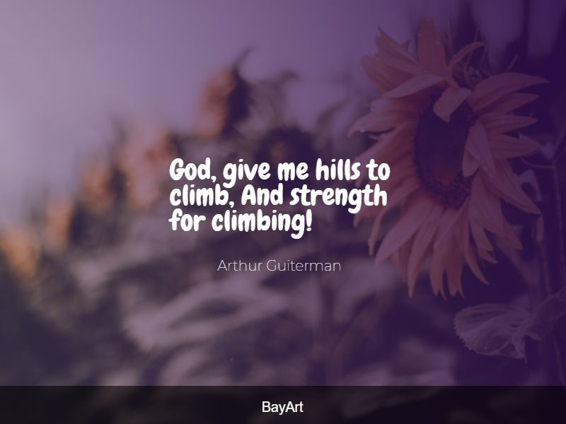 inspirational God give me strength quotes