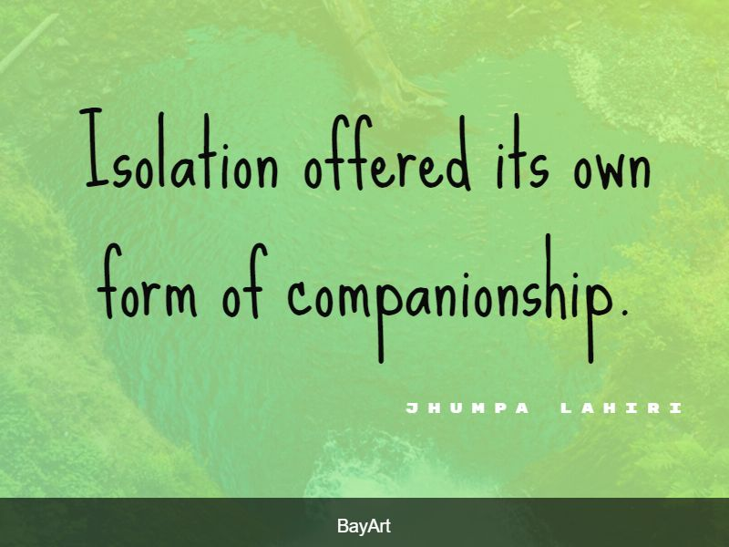 quotes about isolation