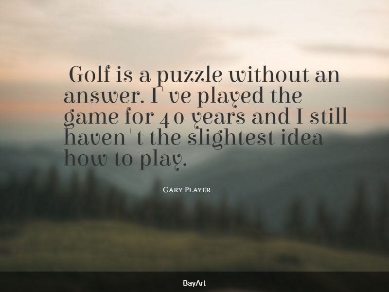 top golf quotes