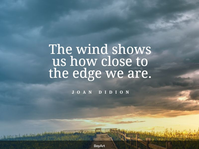 top wind quotes