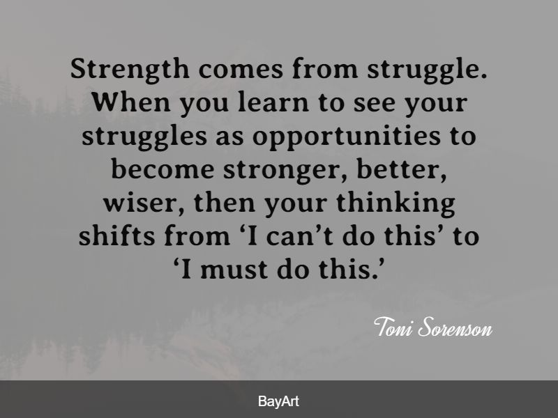 empowering struggle quotes