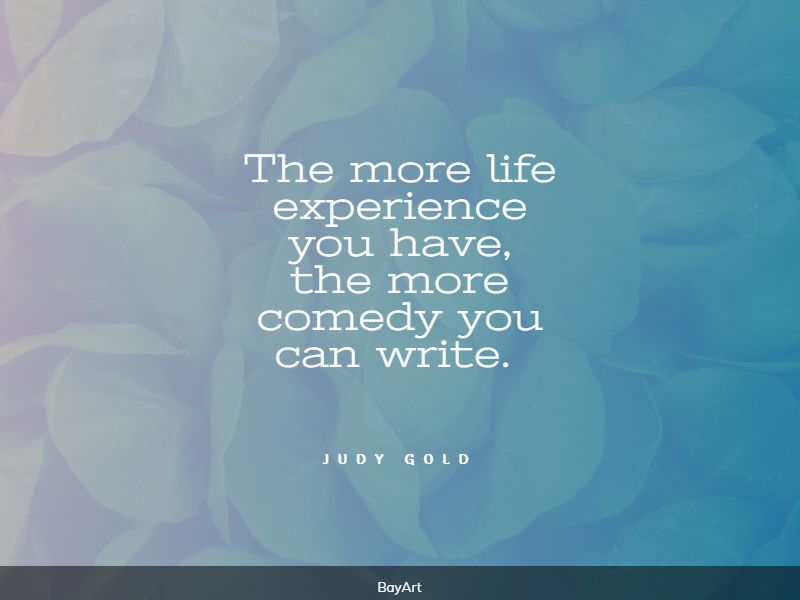 famous life experience quotes