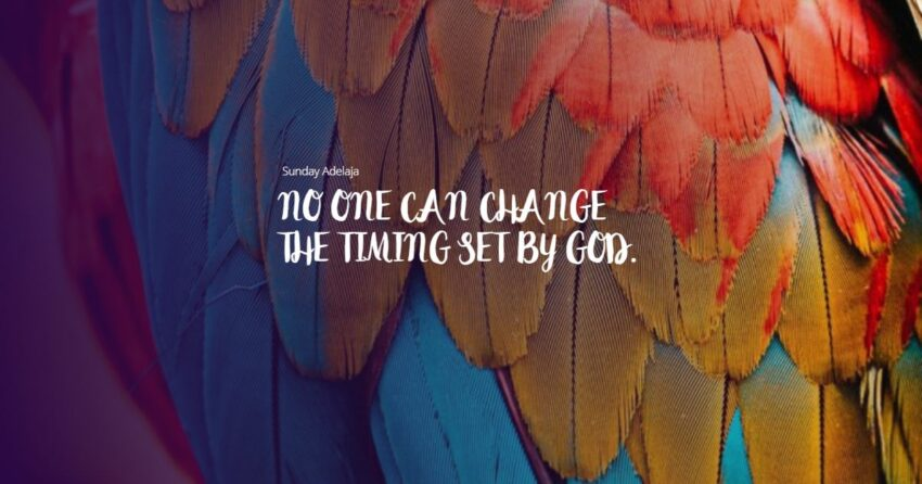God's timing quotes