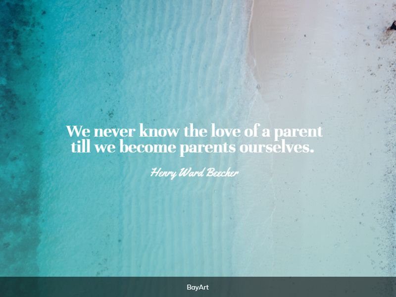 meaningful parents love quotes
