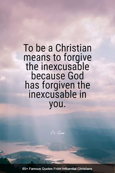 positive quotes and sayings from famous christians
