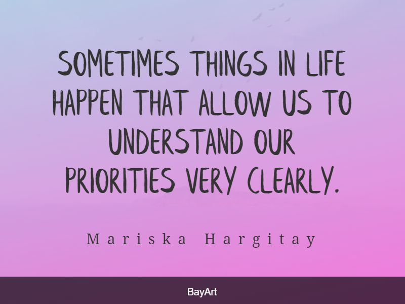 quotes on priorities