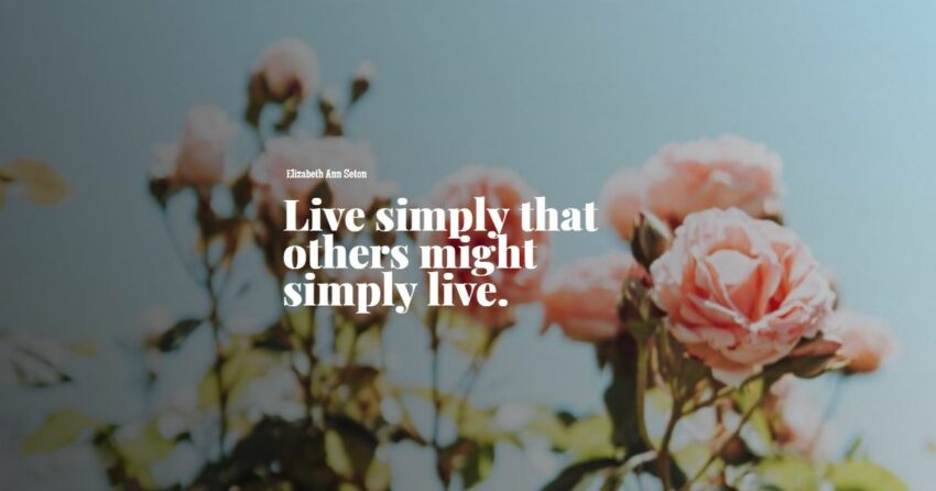 simple life quotes