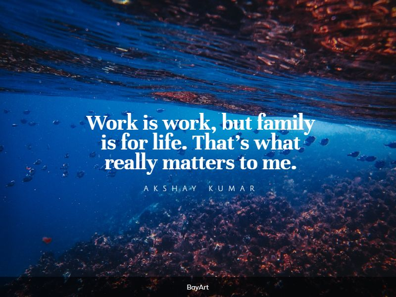 sweet family first quotes