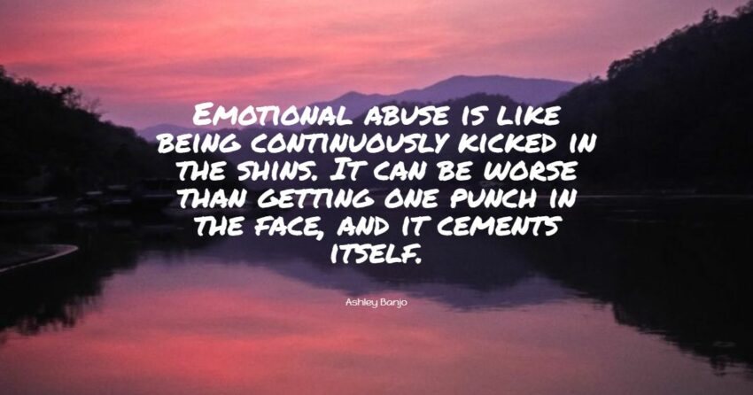 emotional abuse quotes