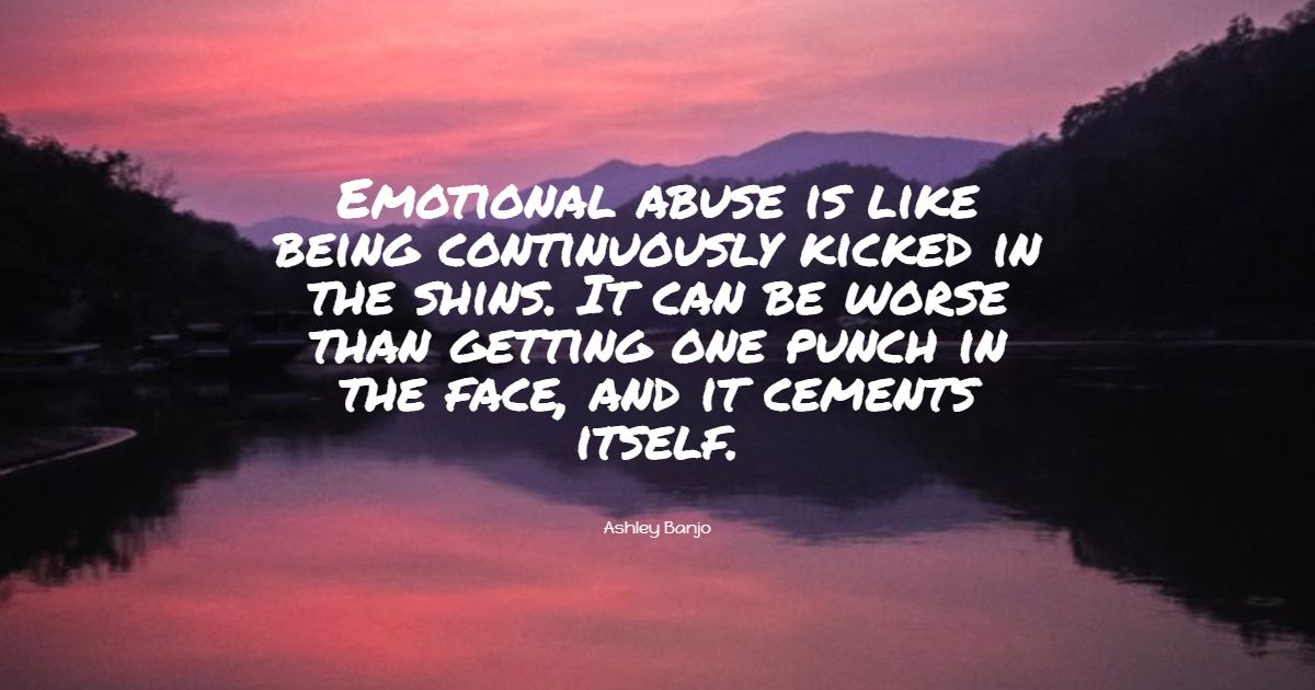 Abuse quotes mental Quotes on