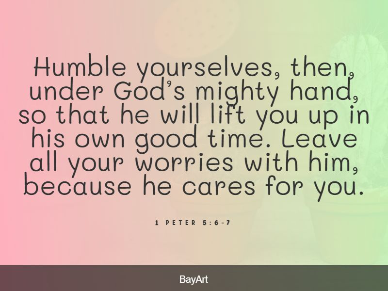 Bible quotes about anxiety