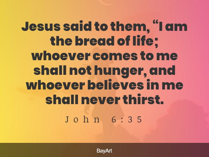Bible quotes about communion