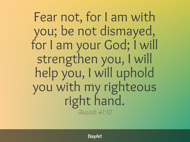 Bible quotes for comfort