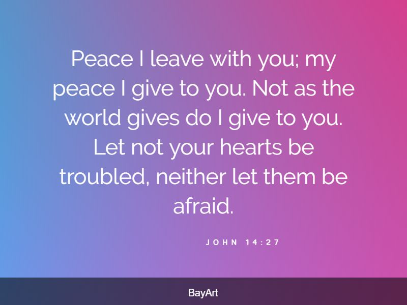 bible verses for stress relief