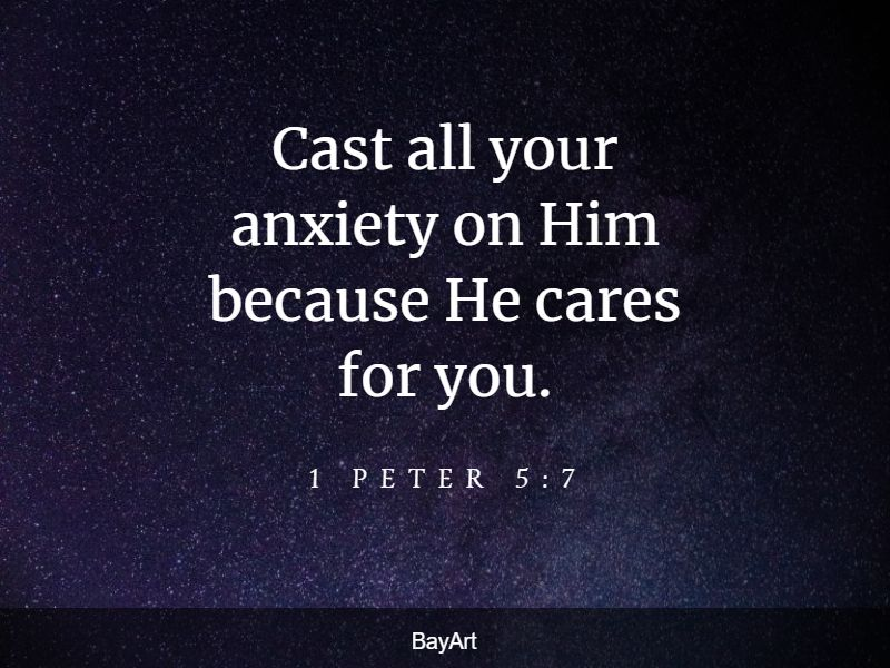 bible verses for stressful times