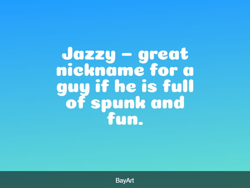 cool pet names for guys