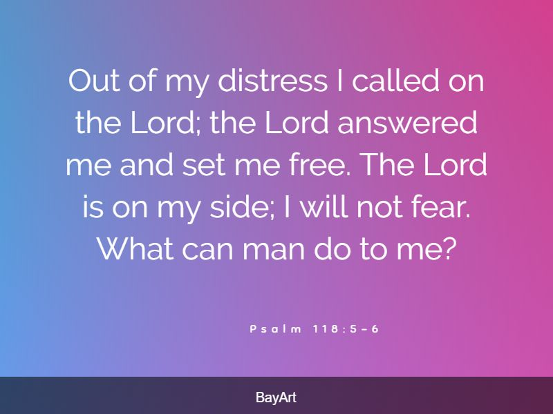 encouraging bible verses about stress