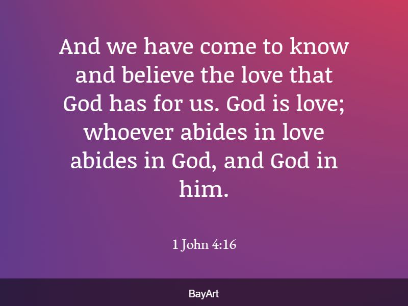 Bible quotes about loving others