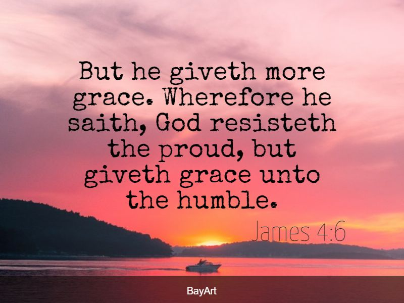 Bible verses about being humble