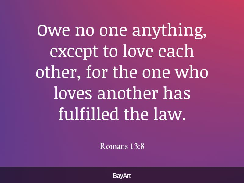Bible verses about love to others