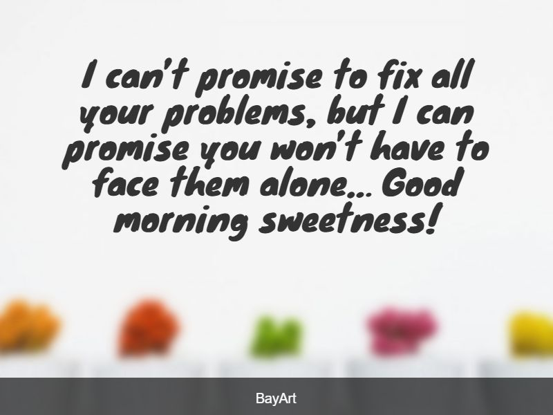 romantic good morning love message for him