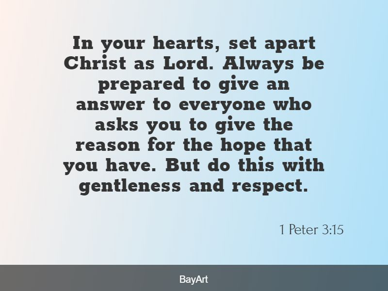scriptures on respect