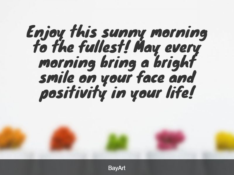 sweet good morning love message for him