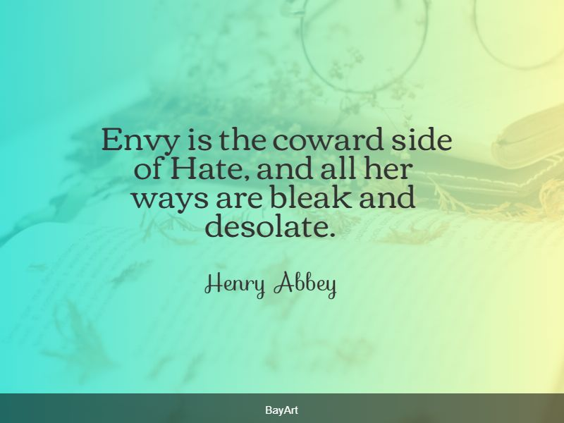 top envy quotes