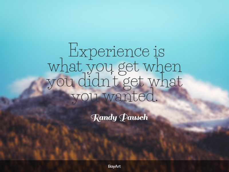 famous experience quotes