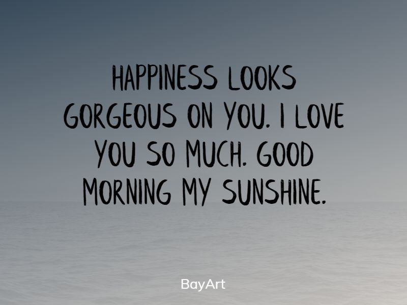 flirty good morning text messages for her