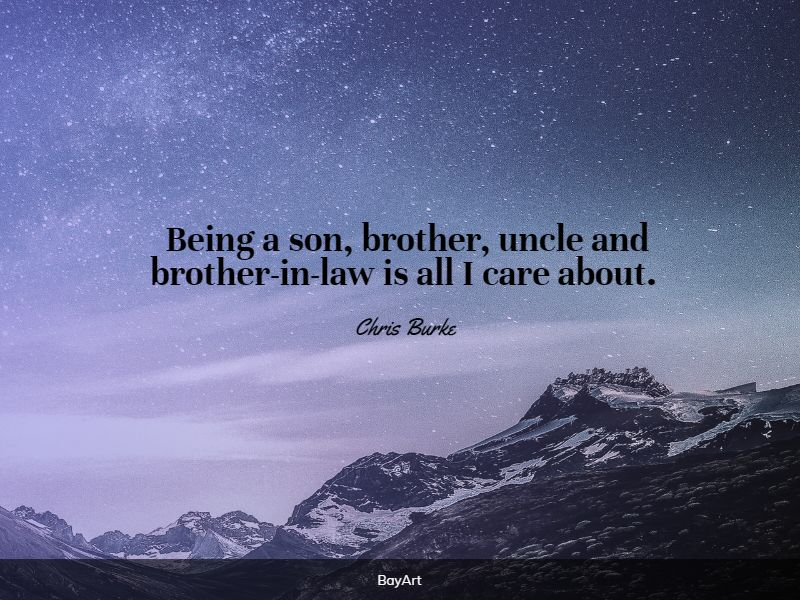 greatest brother in law quotes